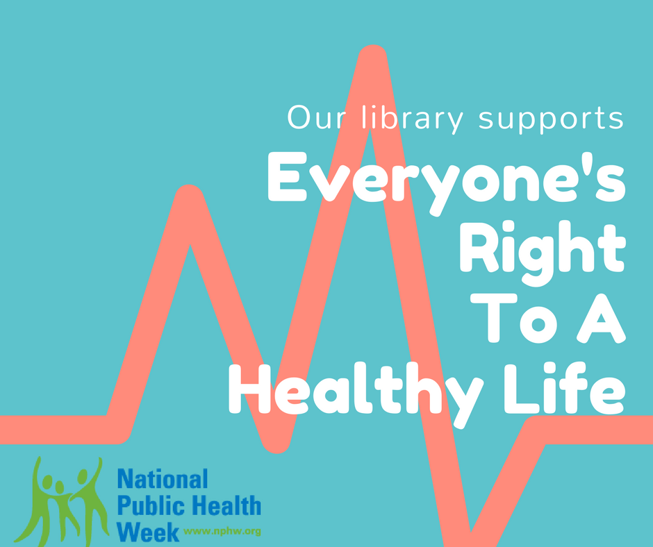 National Public Health Week FB post - Bridges Library System