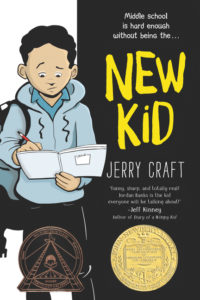 """Book jacket for """"New Kid"""" by Jerry Craft"""